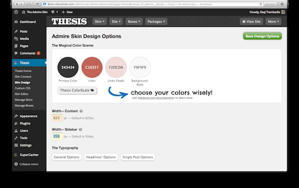 upload thesis design options file